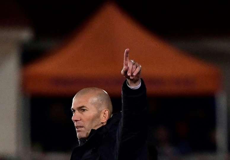 A Copa, o troféu que falta para Zidane. AFP