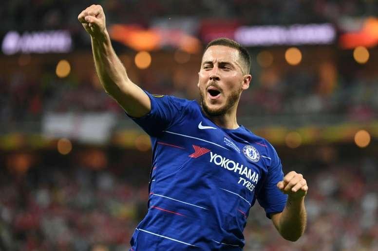 El Madrid quiere atar a Hazard este jueves. AFP
