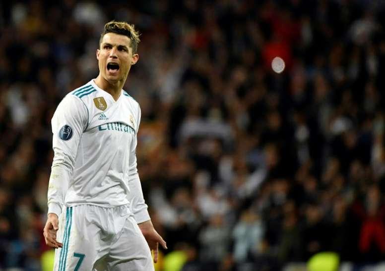 Cristiano Ronaldo, en un territorio inexplorado. AFP/Archivo