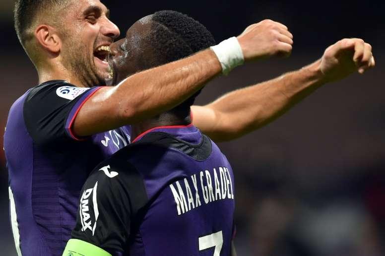 Les compos probables du match de Ligue 1 entre Strasbourg et Toulouse. AFP