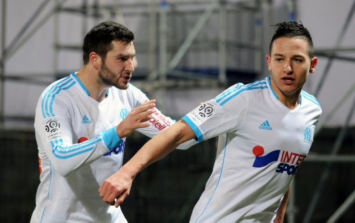 Thauvin se despidió formalmente del Olympique de Marsella tras firmar por Tigres. AFP/Archivo