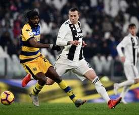 Bernardeschi pourrait jouer face à l'Atlético. AFP
