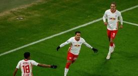 El RB Leipzig, cerca de atar a una perla de la MLS. AFP