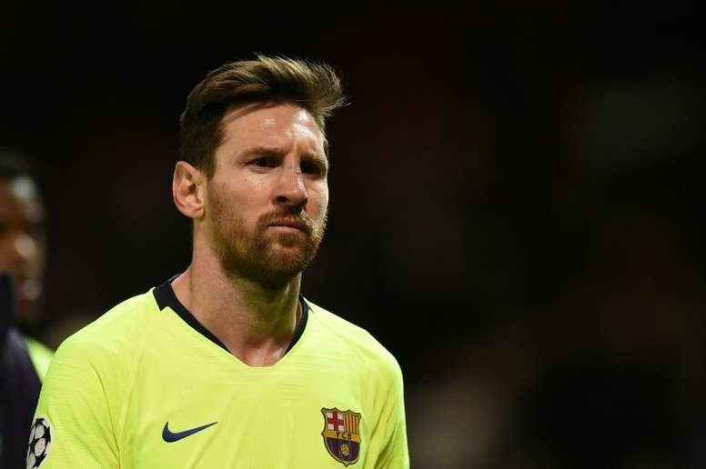 Messi pour crever le plafond des quarts. AFP