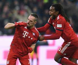 Ribéry sauve le Bayern. AFP