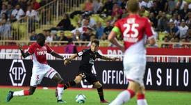 El Sevilla quiere aprovechar la situación del OM para ir a por Sarr y Maxime López. AFP