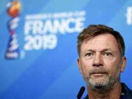 La Suède en demies, pas une surprise, selon son sélectionneur. AFP