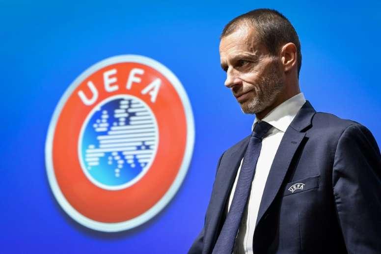 L'UEFA débloque 236 millions d'euros pour aider ses 55 fédérations membres. AFP