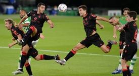 La Real Sociedad arrasó al Betis. AFP