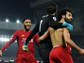 Mo Salah prévient l'Atlético Madrid avant Anfield. AFP