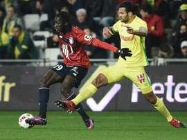 El Nantes recibe la visita del Lille. AFP