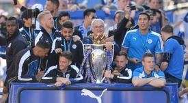 Los 9 fieles del Leicester que enamoró a Europa y reinó en Inglaterra. AFP