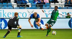 O dia em que Haaland marcou quatro gol com Solskjaer no banco. AFP