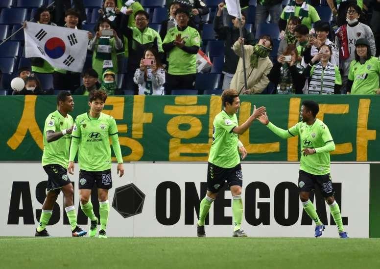 Les matches amicaux de pré-saison autorisés en Corée du Sud. AFP