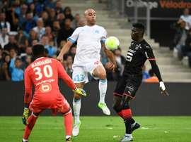 O Rennes bateu o Marseille por 1-3. AFP