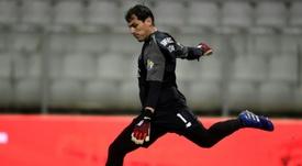 Iker Casillas, lors du match de la Primeira Liga face à Moreirense. AFP