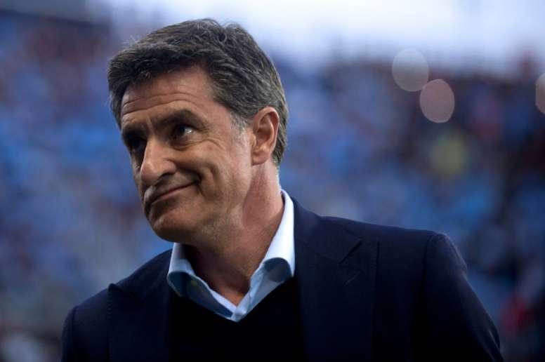 L'ancien entraîneur de Grenade prend les rênes de l'équipe andalouse. AFP