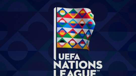 Tirage au sort de la Ligue des nations, entre l'Angleterre, la Suisse, les Pays-Bas. AFP