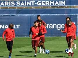 Le milieu du Paris-SG, Lassana Diarra. AFP