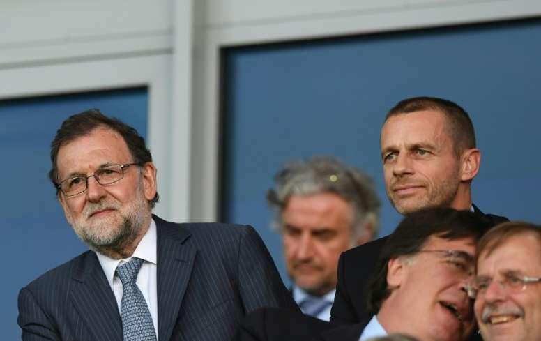 Rajoy, d'ex-chef du gouvernement à président de la fédération de football ? AFP