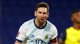 L'incroyable statistique de Messi avec l'Argentine. afp