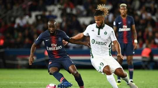 Lassana Diarra quitte le PSG. AFP