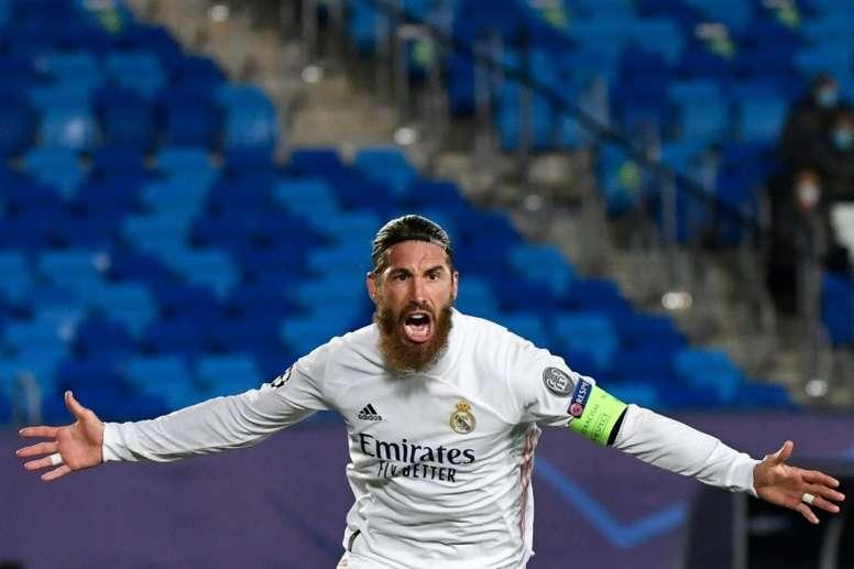 Le PSG prêt à faire une folie pour Sergio Ramos ? afp