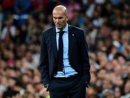 Zidane ne garde pas un bon souvenir de Fuenlabrada. AFP