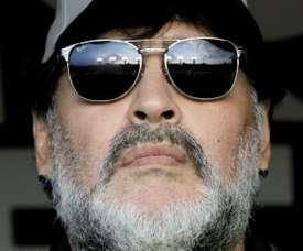Maradona va se faire soigner à Buenos Aires. AFP