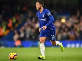 Hazard ha cuajado un gran año 2018. AFP