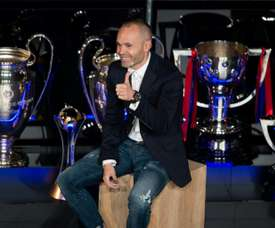 Bruno Fernandes falou sobre Iniesta. AFP