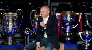 Iniesta escolheu dois ex-colegas e dois rivais. AFP