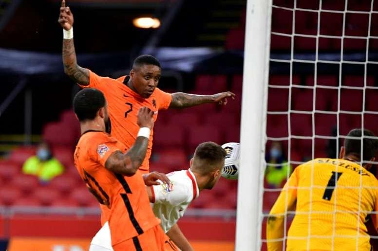 Les Pays-Bas gagnent, l'Italie stagne. afp