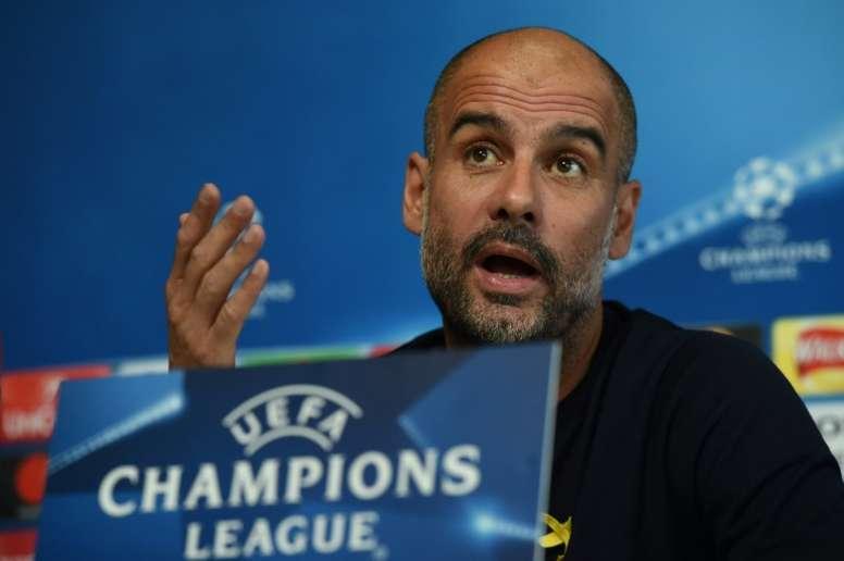Guardiola confessa que torce pela equipa alemã para esta recta final da competição. EFE