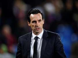 Emery sigue sin dar con la tecla en Francia. AFP