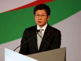 Le président de la Fédé sud-coréenne de football et héritier du groupe Hyundai, Chung Mong-gyu. AFP