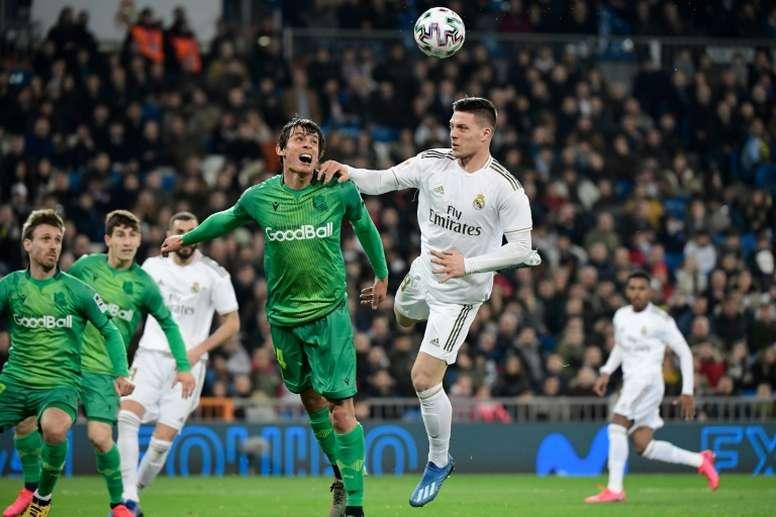 Jovic, una opción imposible para el Eintracht. AFP