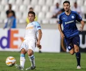 El Sevilla llega a un acuerdo con Maxime Lopez. AFP