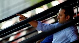 Reunión Murthy-Javi Gracia: el técnico ya sabe el mercado del Valencia. AFP