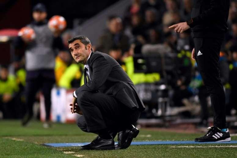 Valverde quer descansar e proteger o plantel. AFP