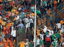 Pour ou contre l'Algérie, le dilemme égyptien. AFP