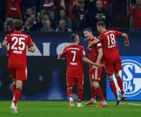 Le Bayern veut garder la tête du championnat. AFP
