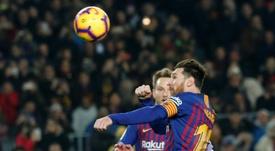 Messi le sauveur. AFP