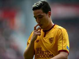 Samir Nasri has been linked with a move to West Ham. AFP