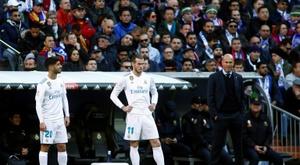 Como será a escalação de Zidane contra a Real Sociedad? AFP