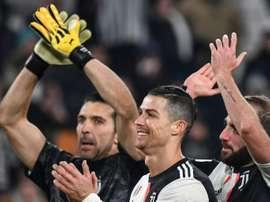 Cristiano Ronaldo é colecionador de todos tipos de gols também na Juventus. AFP