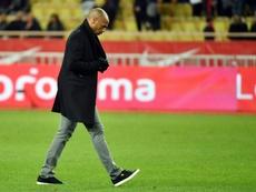 Thierry Henry, dépité, à l'issue de la débâcle de son équipe. AFP