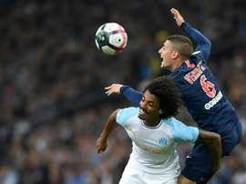 El cuadro parisino sumó su segundo empate consecutivo. AFP