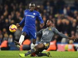Chelsea coloca um preço em Kanté. AFP