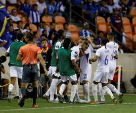Élimination surprise du Honduras par Curaçao. AFP